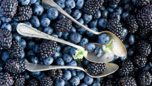 Blueberries Wallpaper