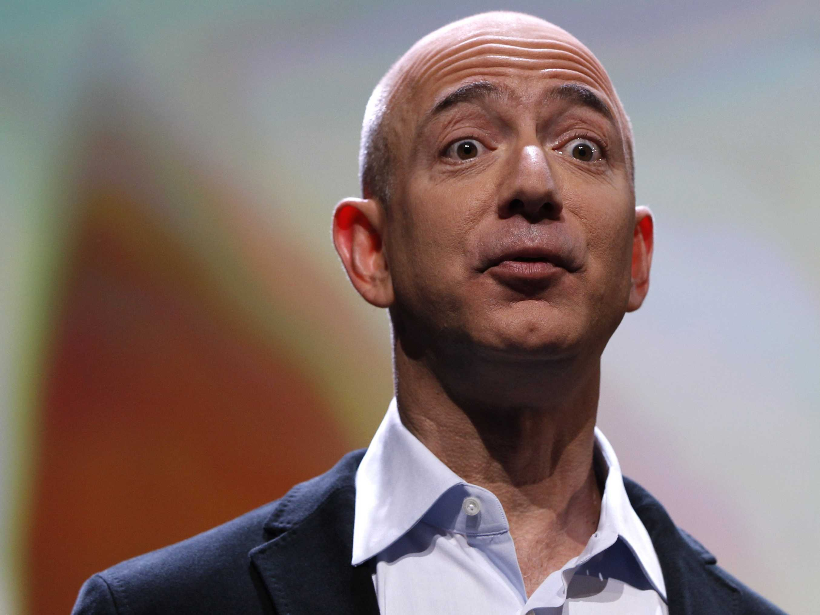 """jeff bezos amazoncom essay """"get big fast"""" in 1994 jeff bezos, a former wall street hedge fund executive, incorporated amazoncom, choosing the name primarily because it began with the first letter of the alphabet and because of its association with the vast south american river."""