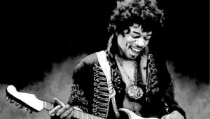 Jimi Hendrix 4k