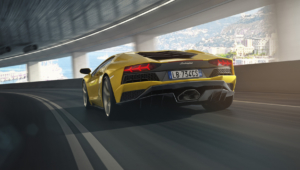 Lamborghini Aventador S Widescreen