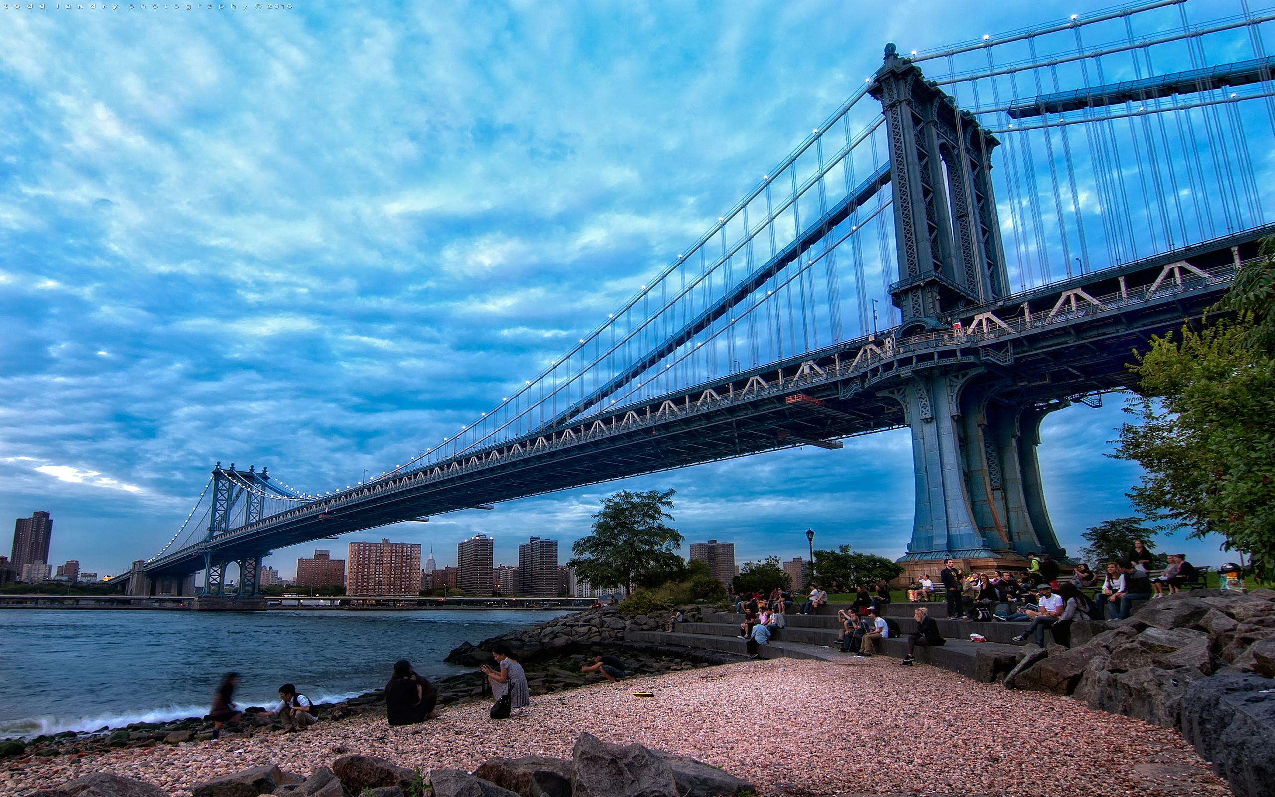 Manhattan Bridge Wallpapers Images Photos Pictures Backgrounds