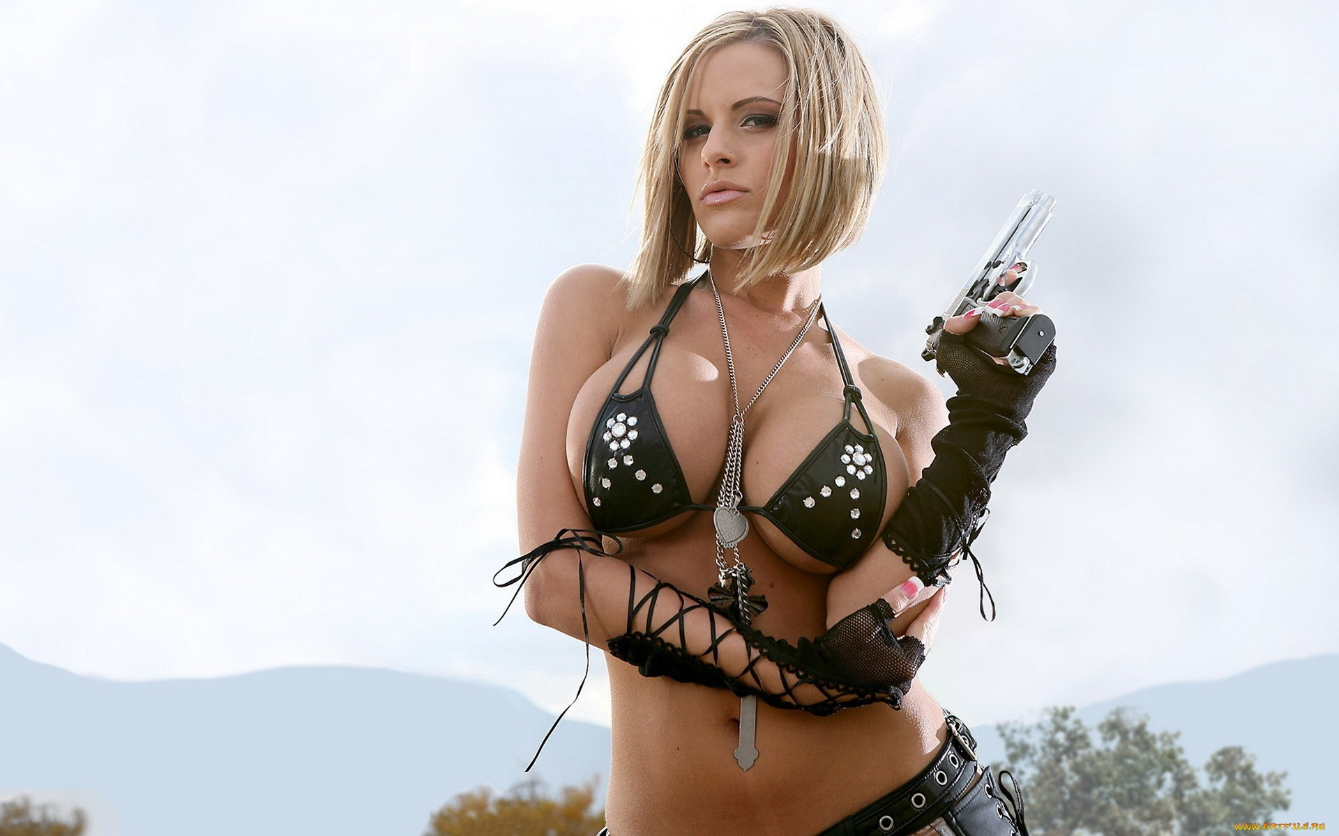 American Model Penny Mathis Lingerie Pictures - Wallpapers