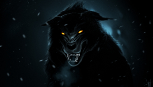 Pictures Of Black Wolf