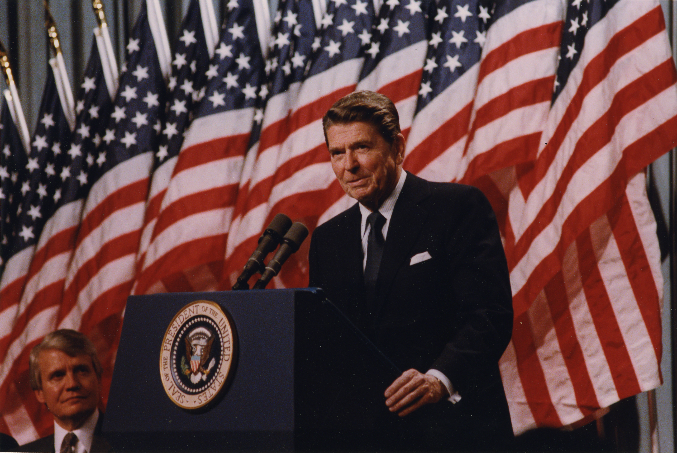 a history of president reagans strategic defense initiative with the soviet union • president reagan forced the soviet union to abandon war on the soviet union the strategic defense initiative to fall of communism and reagan.