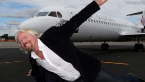 Richard Branson Widescreen