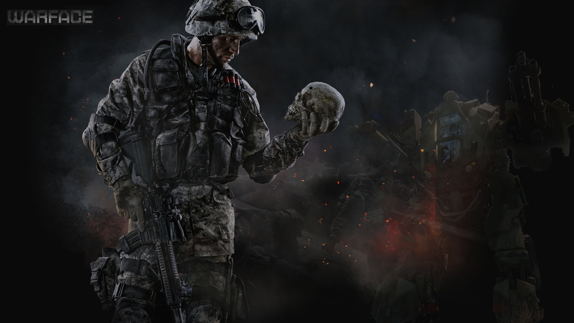 Skull Soldier Wallpaper Hd: Warface Wallpapers Images Photos Pictures Backgrounds