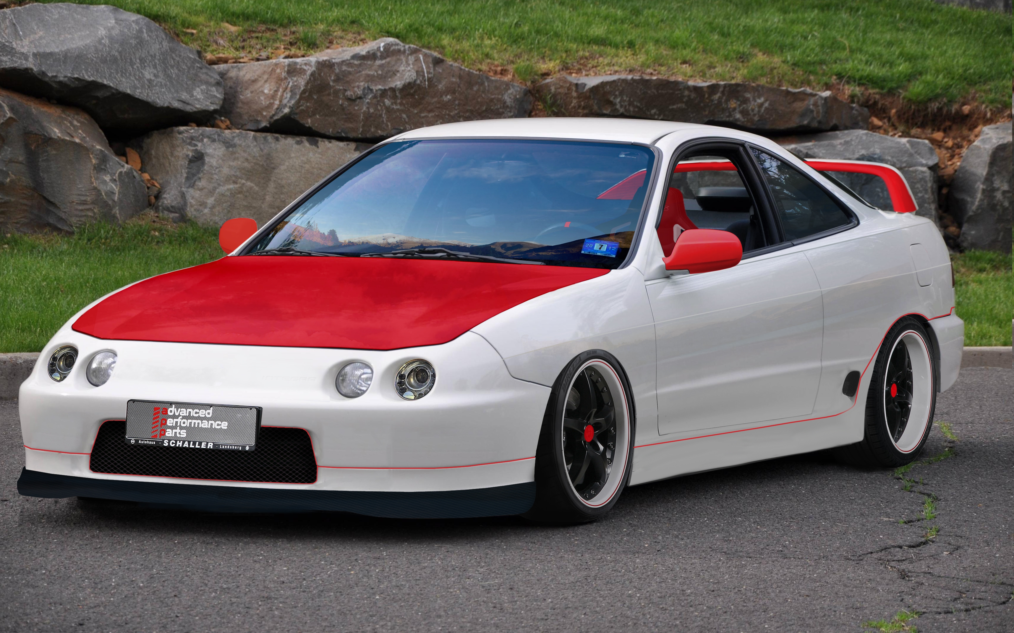 acura integra type r hd background. Black Bedroom Furniture Sets. Home Design Ideas