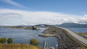 Atlantic Ocean Road In Norway Images