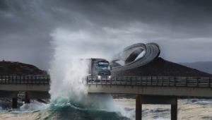 Atlantic Ocean Road In Norway Wallpapers Hd