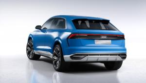 Audi Q8 2018 Widescreen