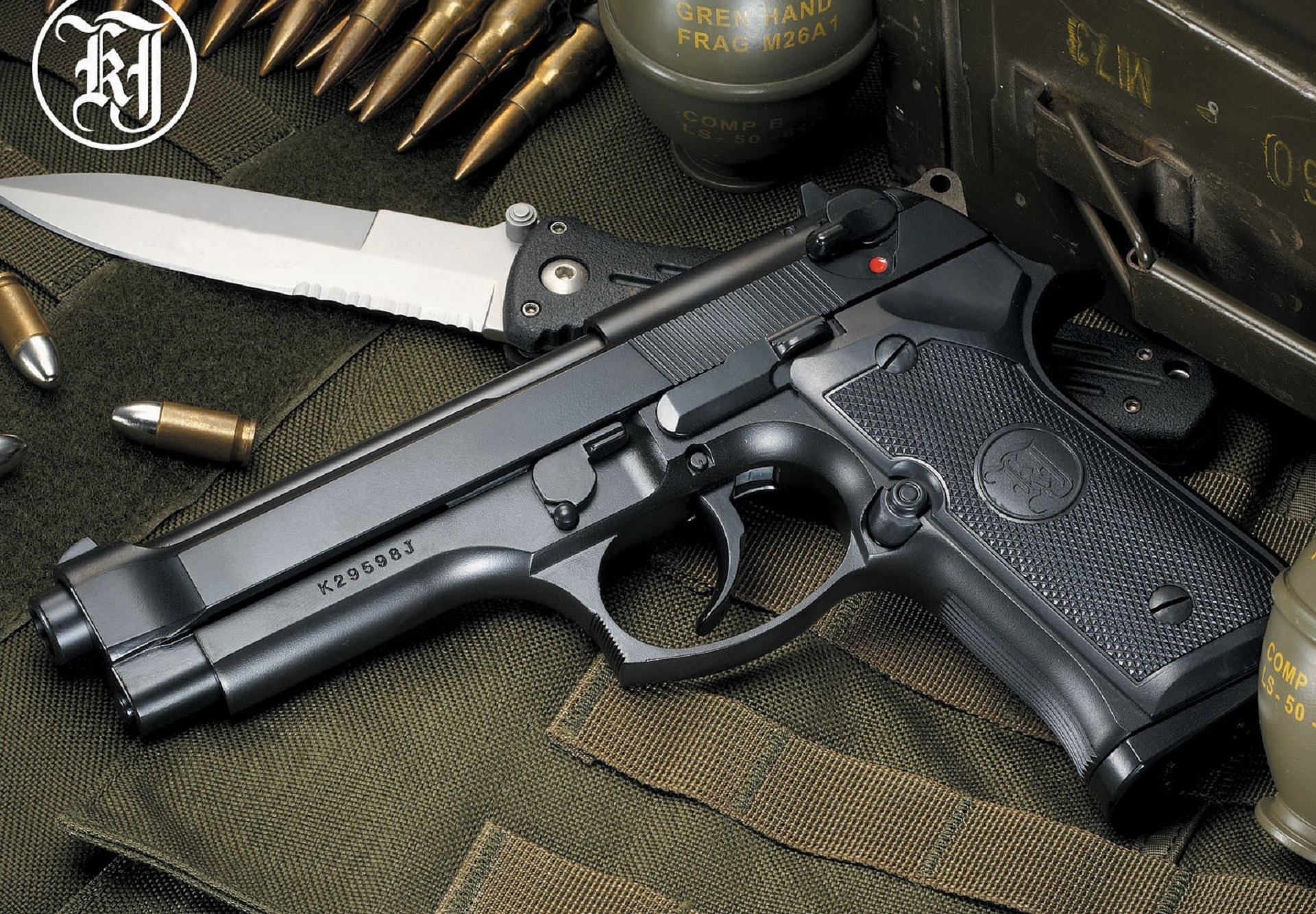 Beretta 92fs High Quality Wallpapers