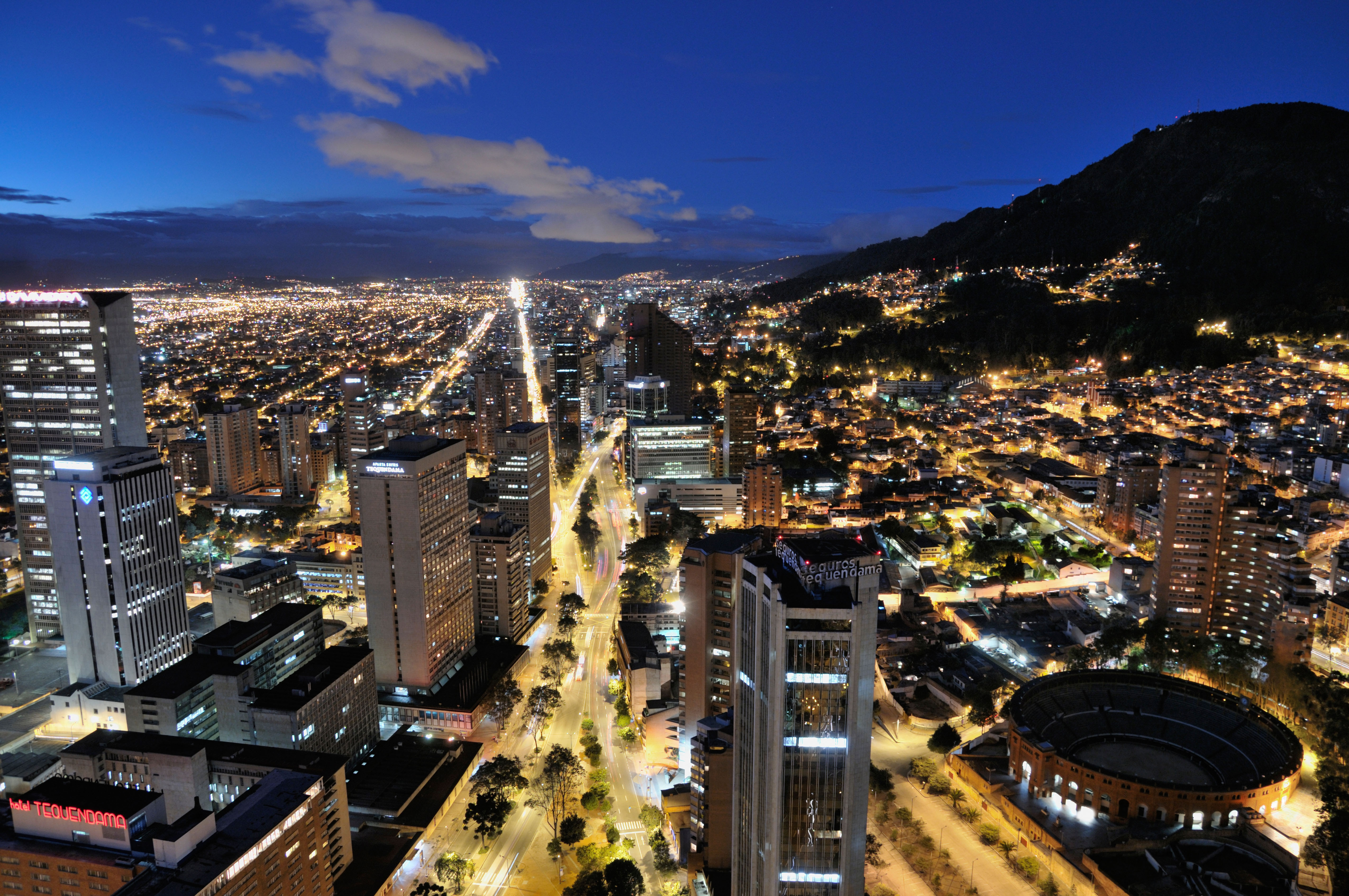 Bogota 4k