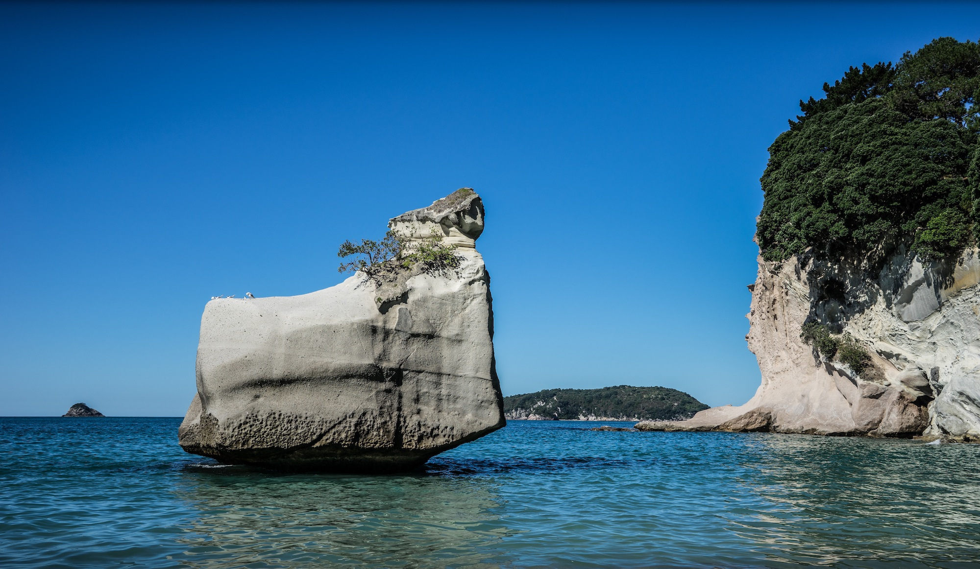 Cathedral Cove Computer Wallpaper