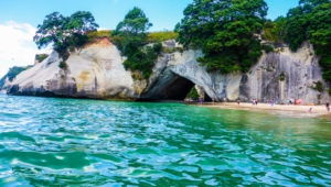 Cathedral Cove Desktop