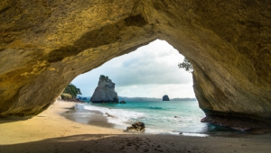 Cathedral Cove Hd Wallpaper