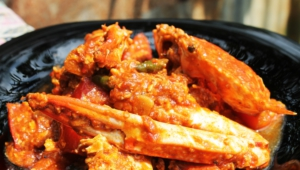 Chili Crab Hd Background