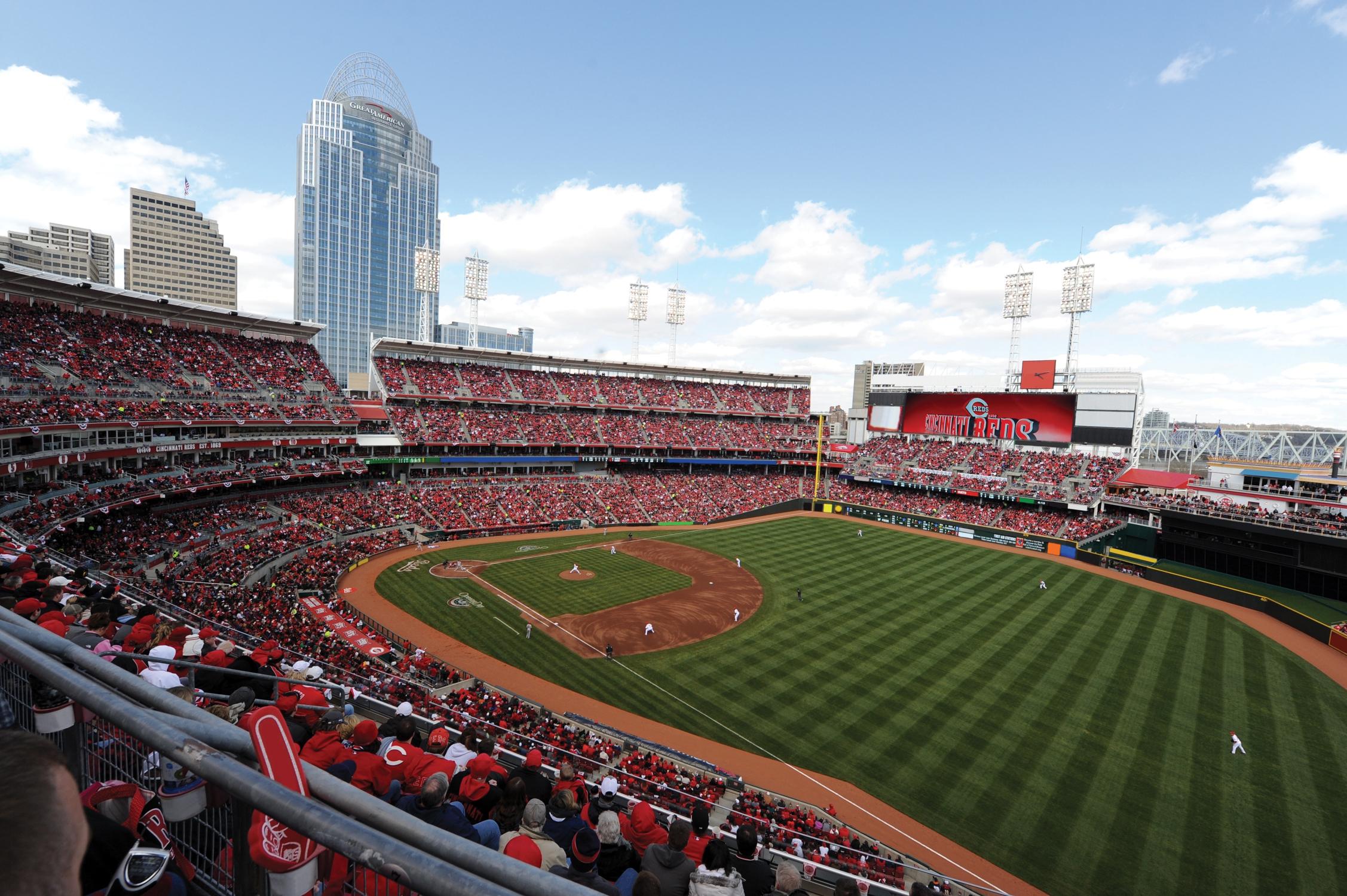 Cincinnati Reds For Desktop