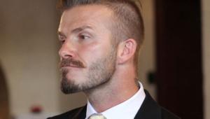 David Beckham Hairstyle 4133