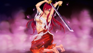 Erza Scarlet For Desktop