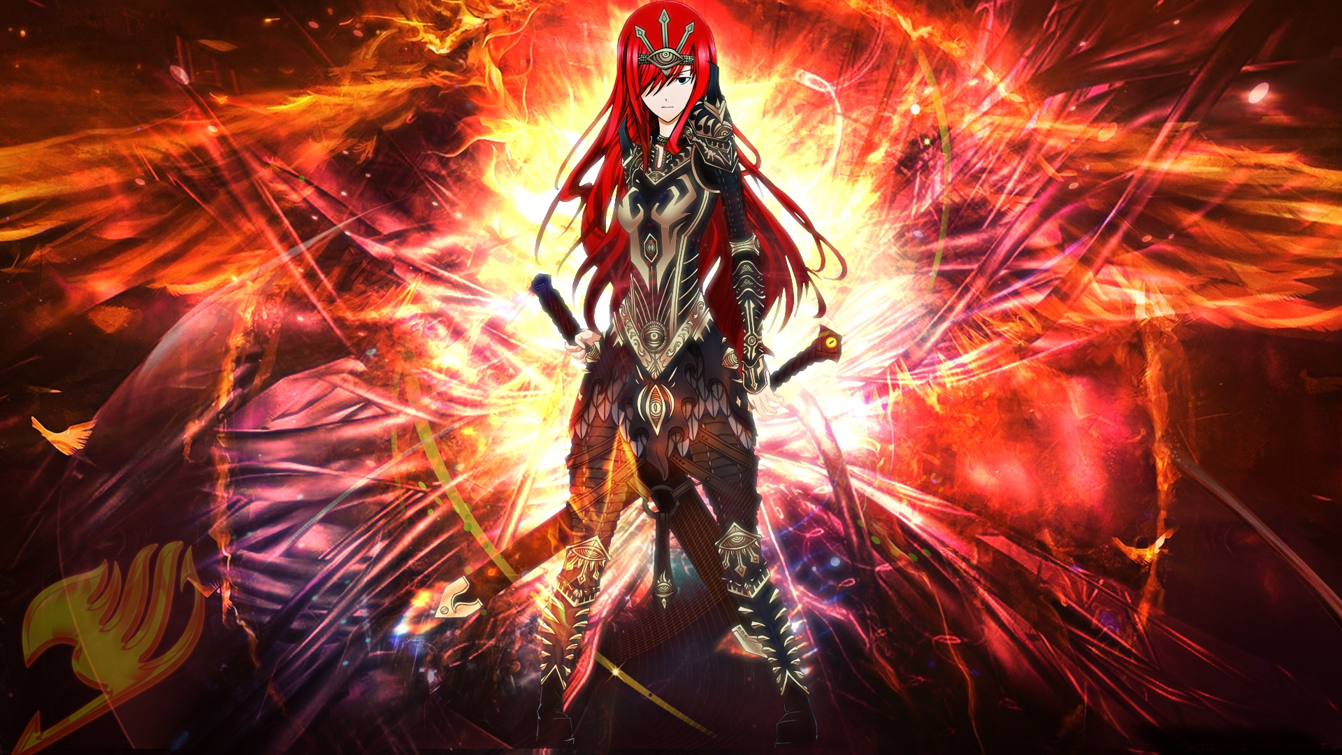 Erza scarlet wallpapers images photos pictures backgrounds - Image fairy tail erza ...