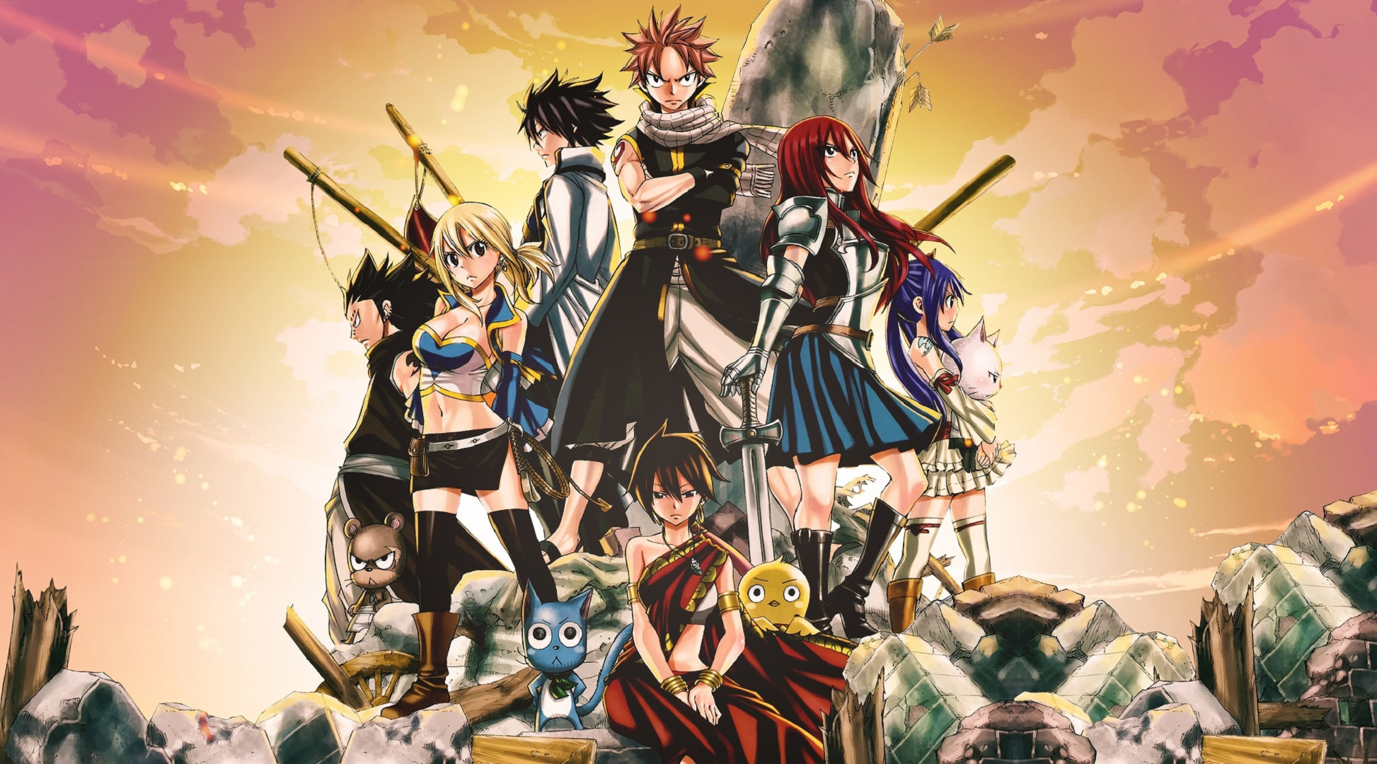 Fairy Tail Wallpapers Images Photos Pictures Backgrounds