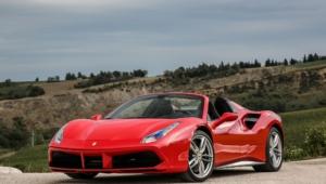 Ferrari 488 Spider Widescreen