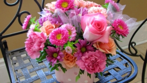 Flower Bouquet Widescreen