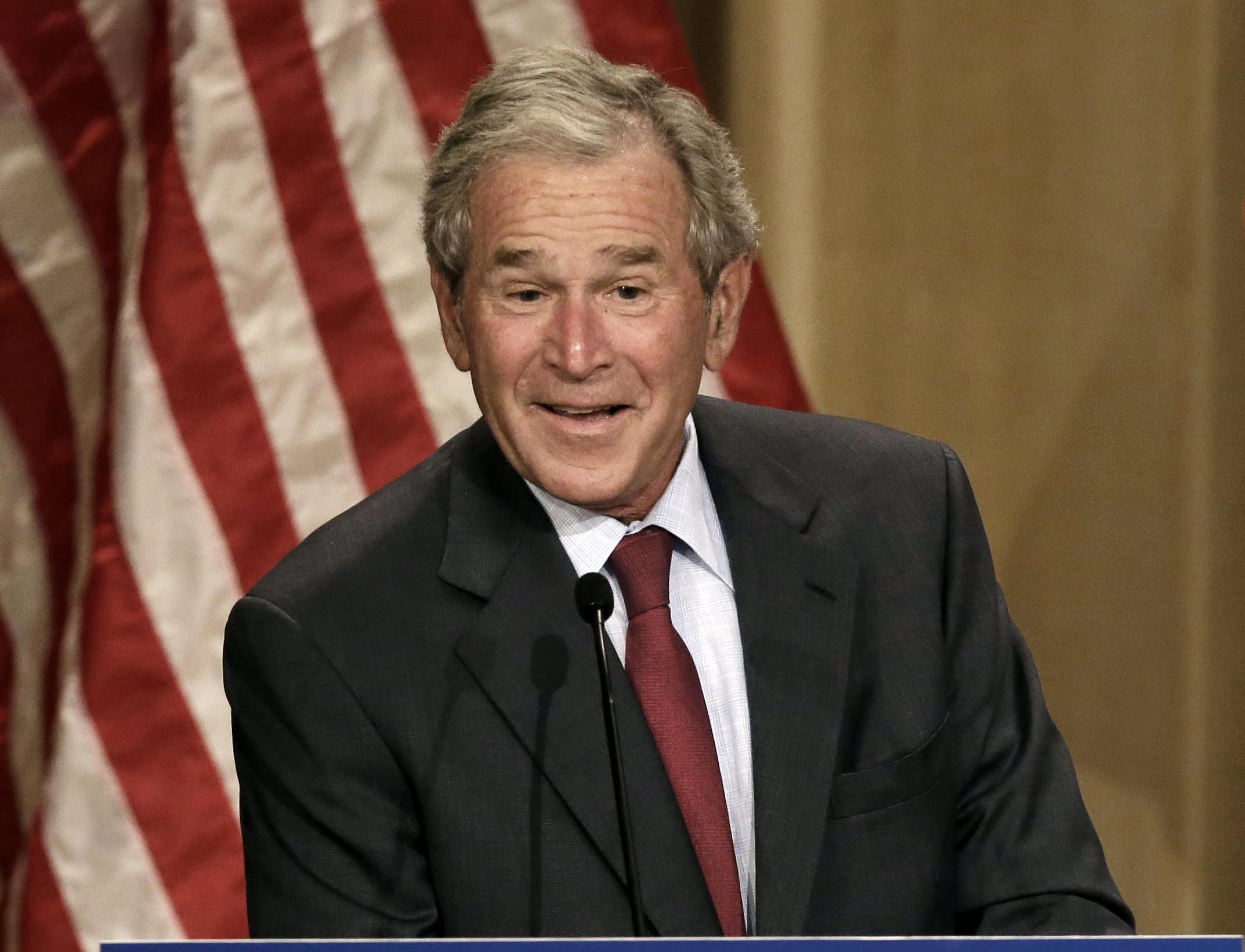 the arguments against the decisions and actions of george w bush and all of the republican party in  Bush family comes out swinging at president trump in once had over the republican party and their george w bush for his decision to enter the.