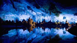 Illuminated Caves Images