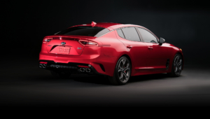Kia Stinger Hd Wallpaper