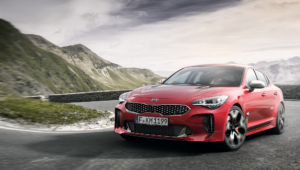 Kia Stinger Hairstyle