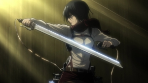 Mikasa Ackerman Hd Background