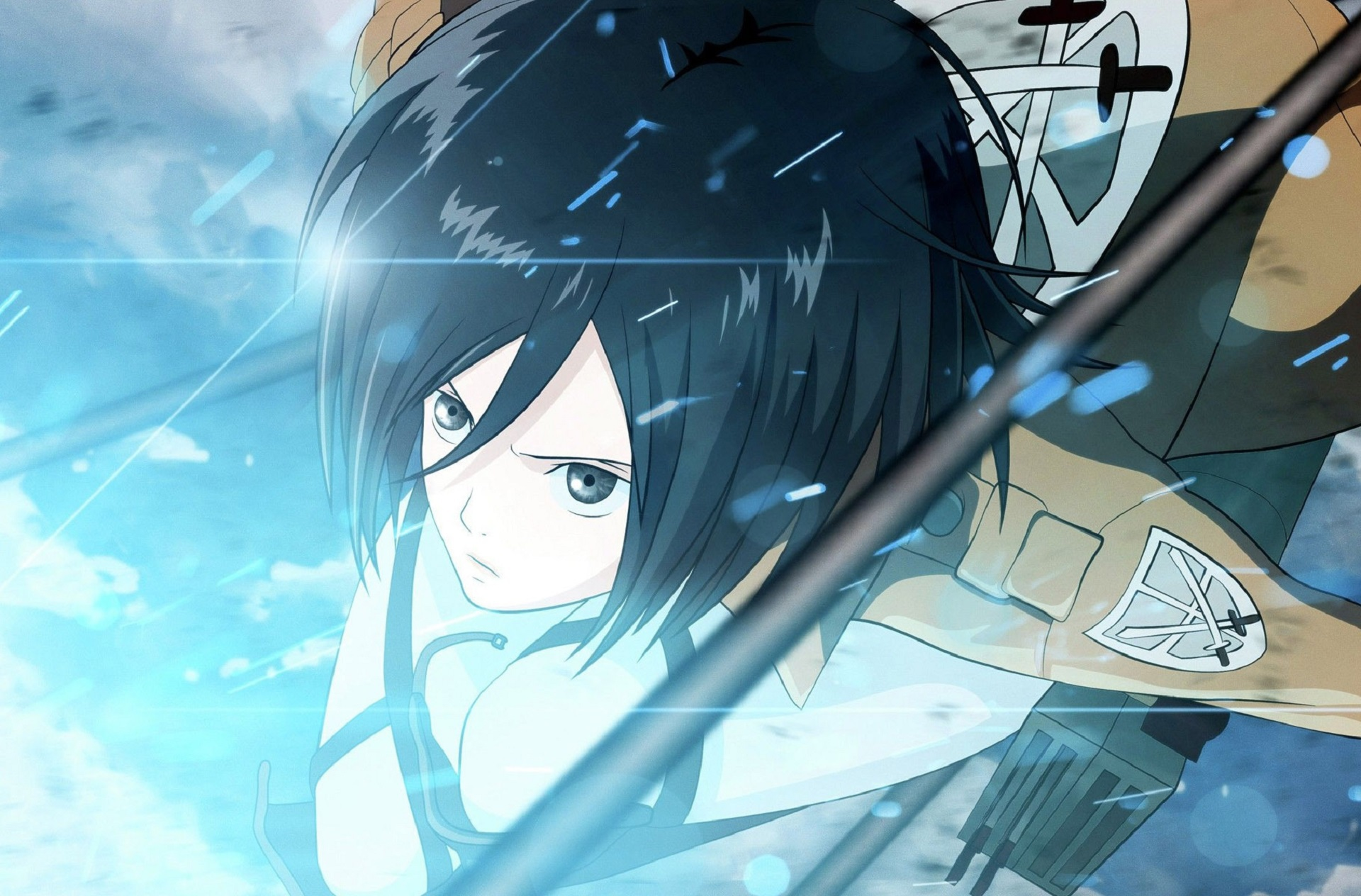 wallpapers mikasa ackerman hd - photo #32