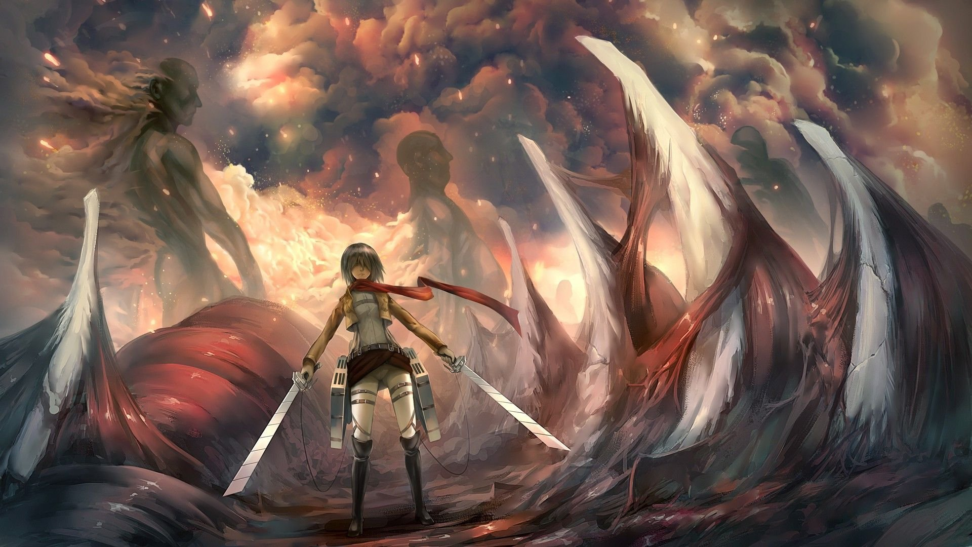 wallpapers mikasa ackerman hd - photo #10