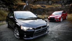 Mitsubishi Lancer Evolution Background
