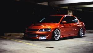 Mitsubishi Lancer Evolution For Desktop