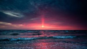 Ocean Sunset 4k