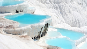 Pamukkale Hd Background