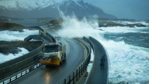 Pictures Of Atlantic Ocean Road In Norway