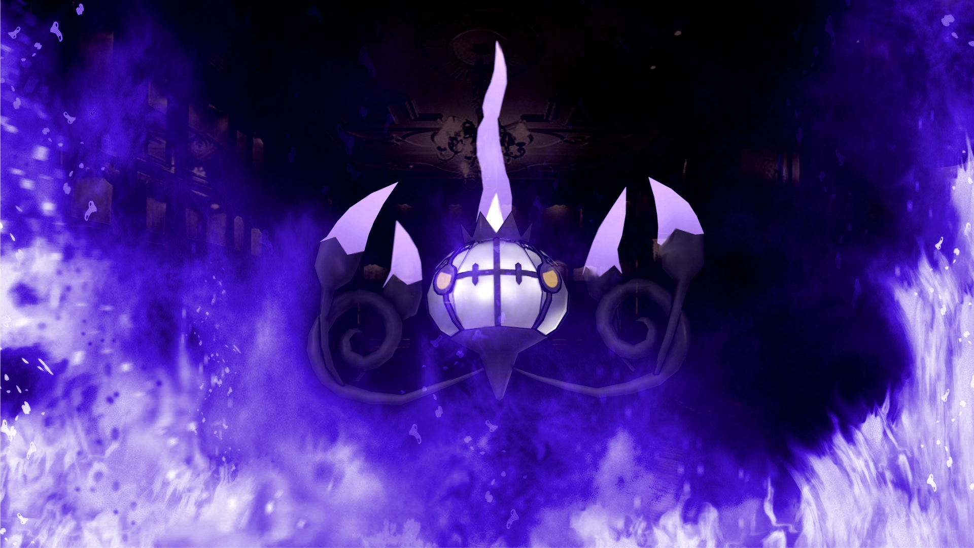 Pictures Of Chandelure