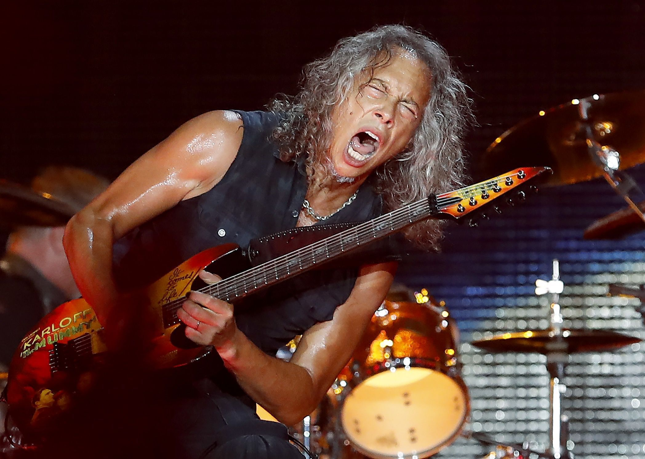 Pictures Of Kirk Hammett