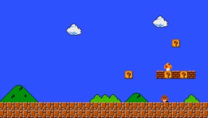Pixel Mario Widescreen