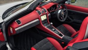 Porsche Boxster Spyder 4k