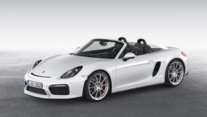 Porsche Boxster Spyder Images