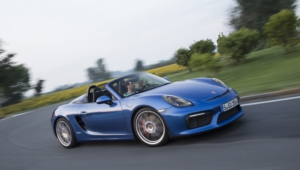 Porsche Boxster Spyder Widescreen