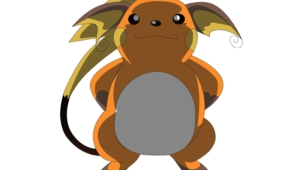 Raichu Computer Wallpaper