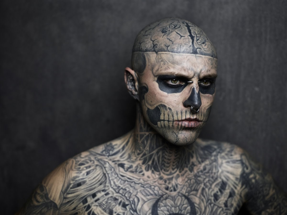 Rick Genest Wallpapers Images Photos Pictures Backgrounds