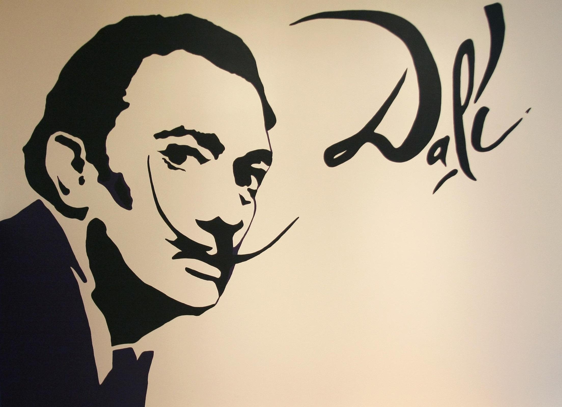 Логотип нарисованный сальвадором дали