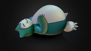 Snorlax Computer Wallpaper