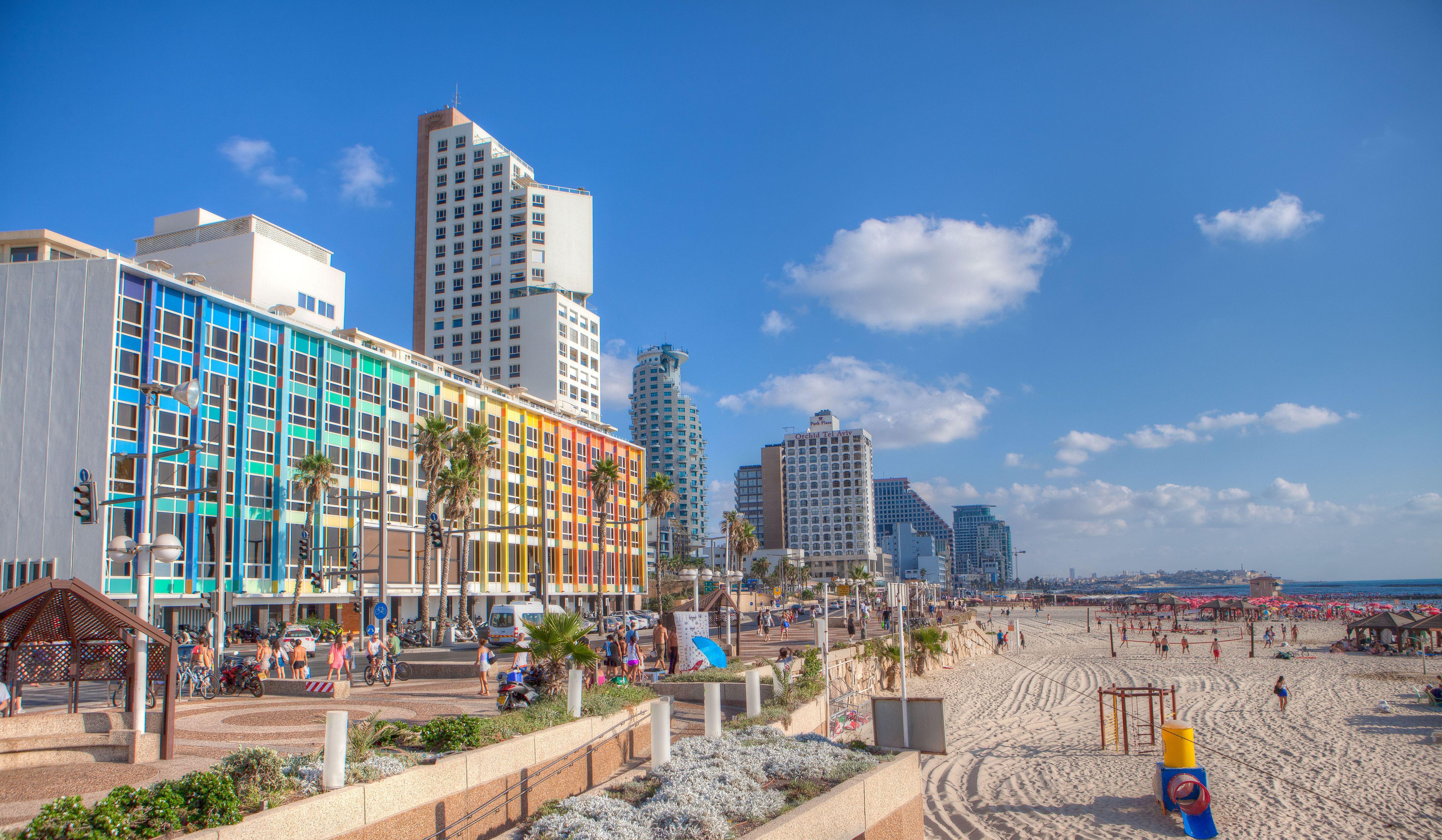 Tel Aviv Hd Background